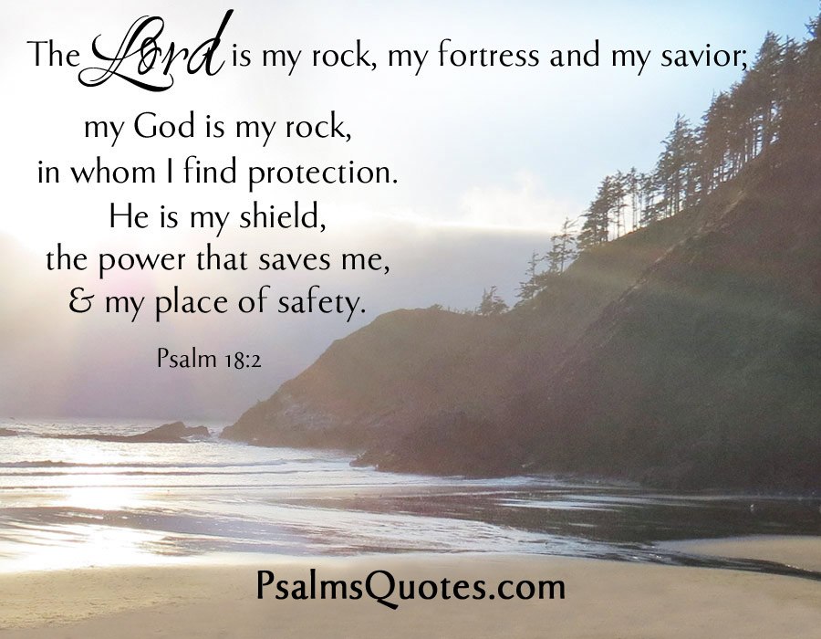 Best And Popular Psalm 18:2