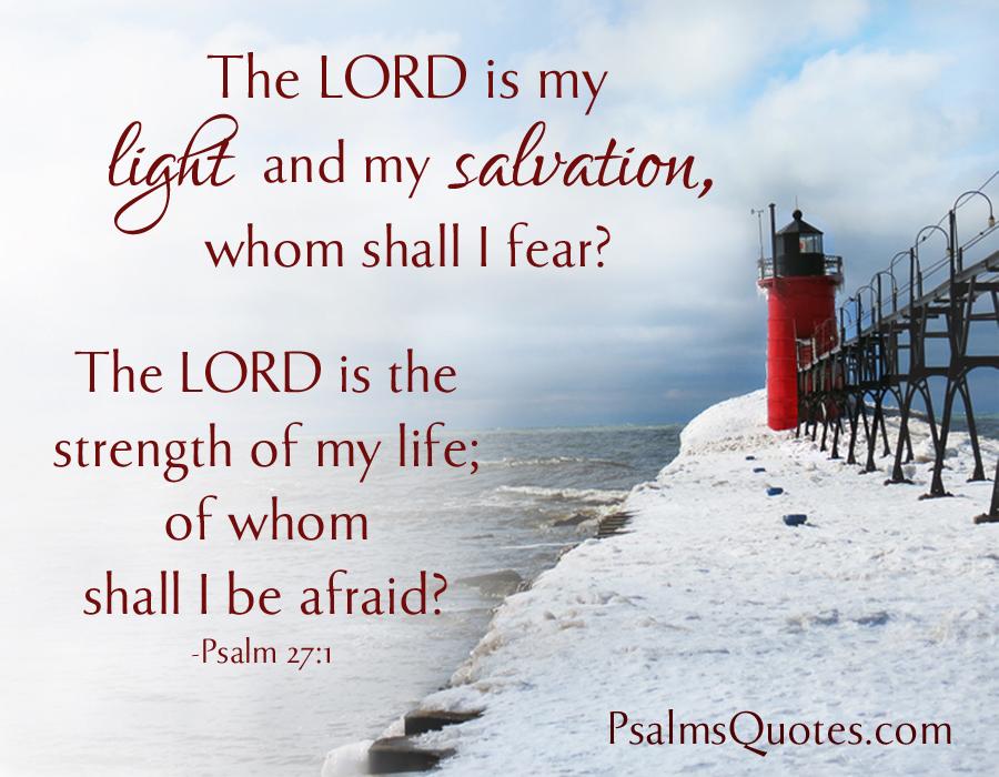 Psalm 27:1 - Bible Verse - Book of Psalms