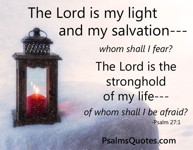 Psalm:27:1 - Psalm of Protection