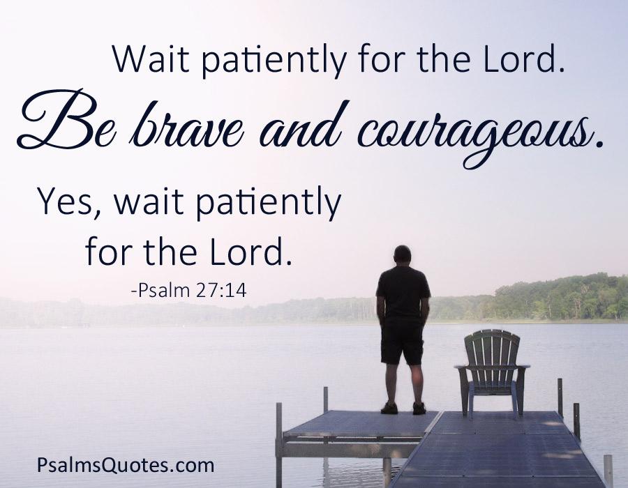Psalm 27 14 Bible Verse