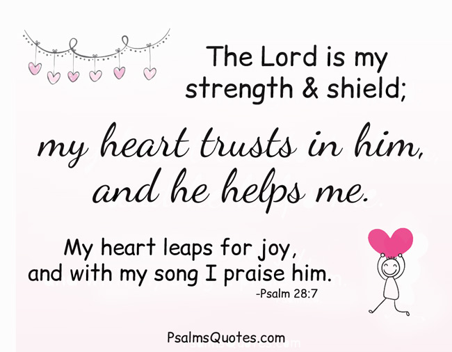 Psalms for Strength - Bible Verses