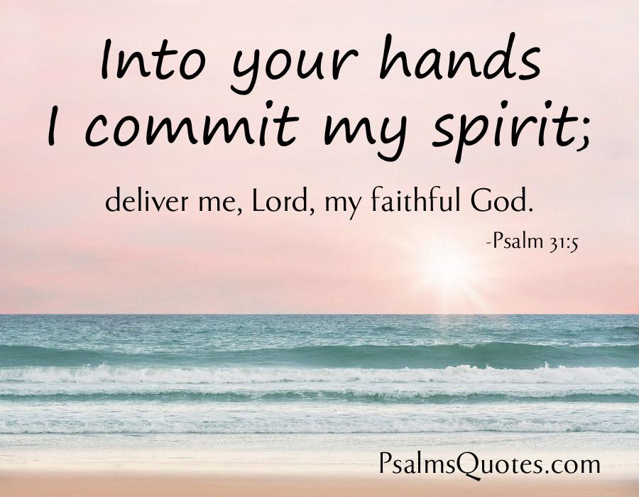 Psalm 31:5