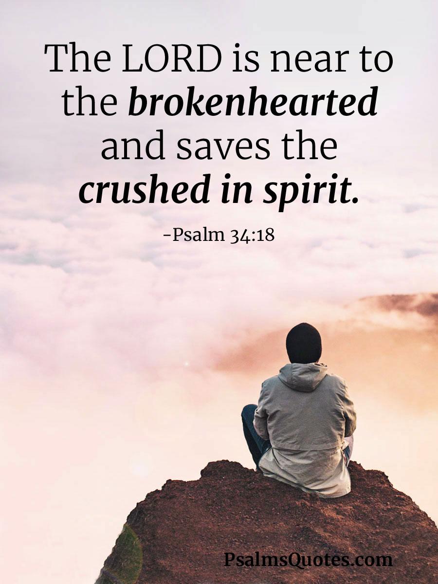 Image result for Psalm 34:18 kjv