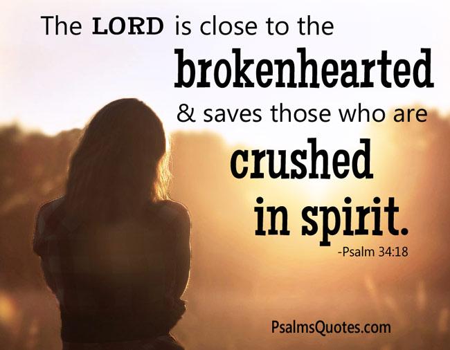 Psalm 34:18-19 -Bible Verse on Healing