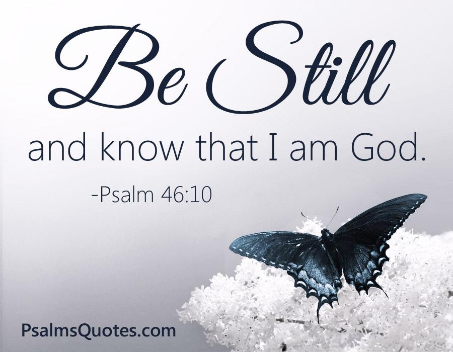 Psalm 46:10 - Popular Bible Verse