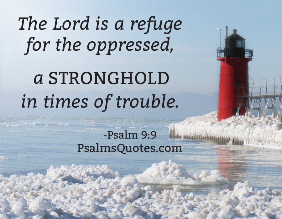 Psalm Quote Psalm 9 9