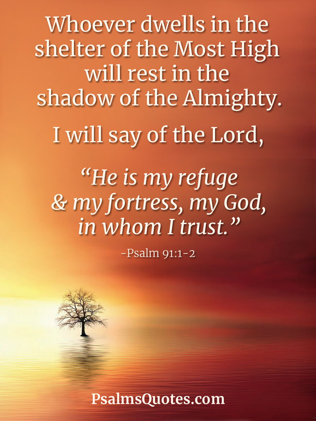 Psalms For Protection Bible Verses