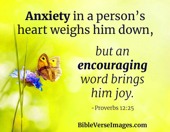 anxiety bible verse
